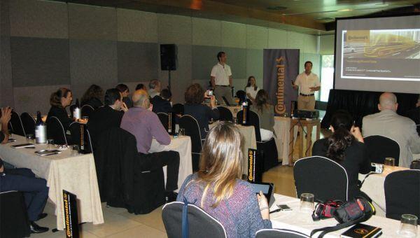 Continental organiza un evento de prensa en Madrid