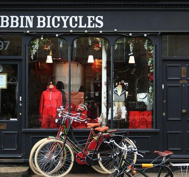 Tienda Bobbin Bicycles Londres