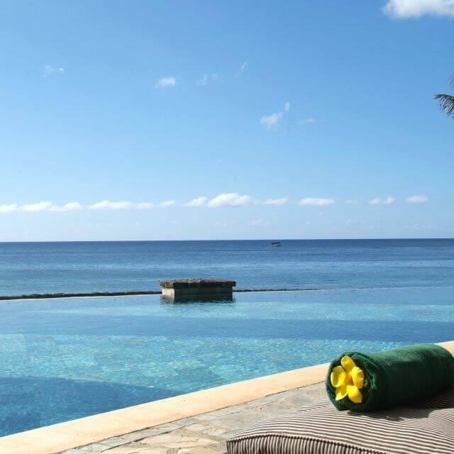 Vistas paradisíacas desde el hotel