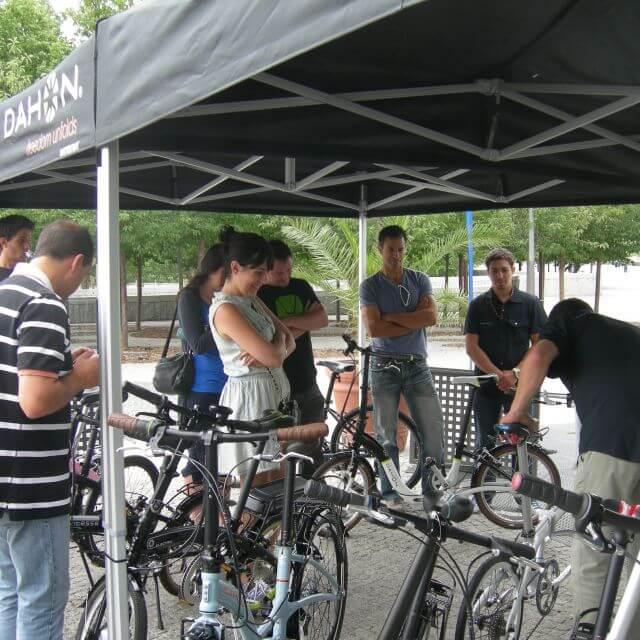 Dahon presenta sus bicicletas a la prensa especializada