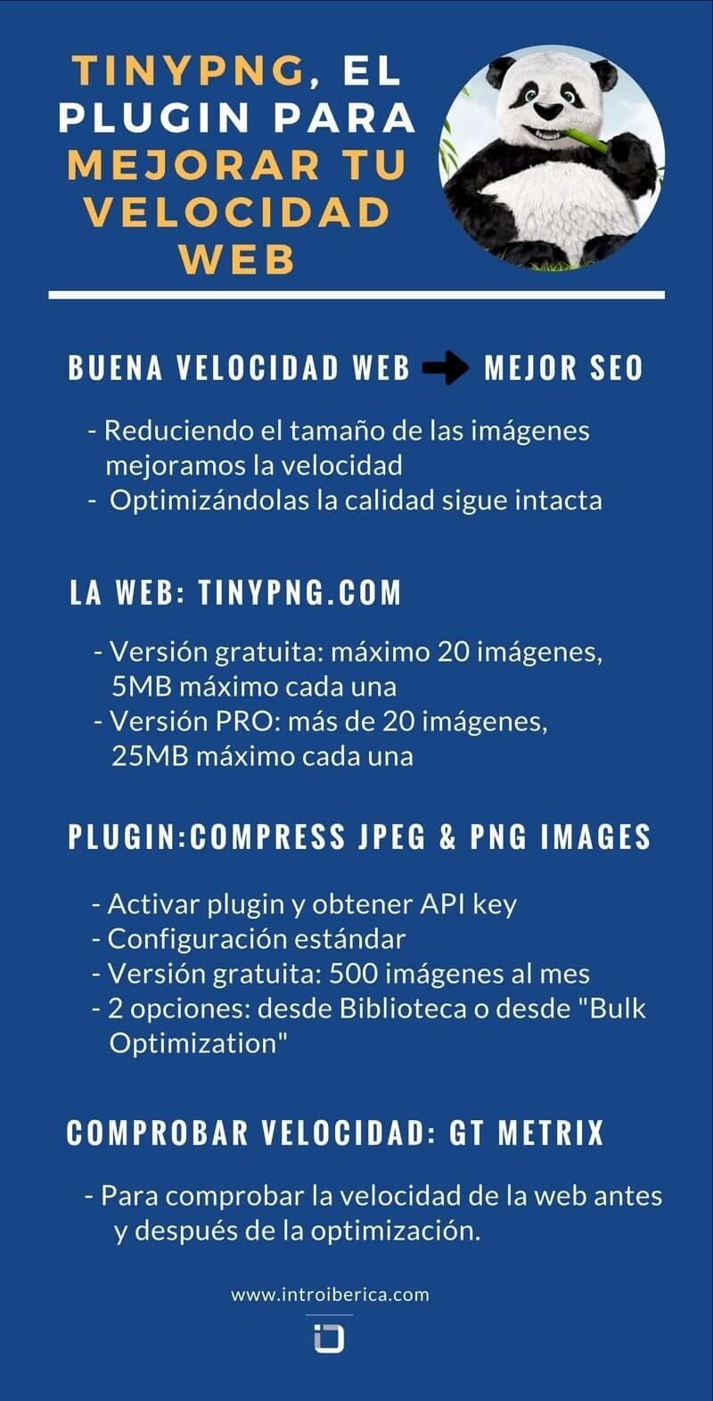 TINYPNG EL PLUGIN PARA MEJORAR TU VELOCIDAD WEB