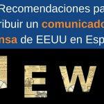 Cómo adaptar un comunicado de prensa de EEUU a la prensa española